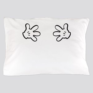 Mickey hands Pillow Case