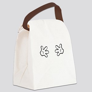 Mickey hands Canvas Lunch Bag