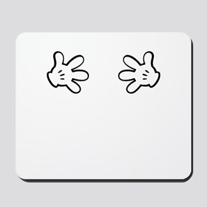 Mickey hands Mousepad