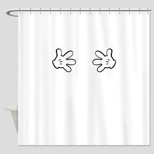Mickey Hands Shower Curtain
