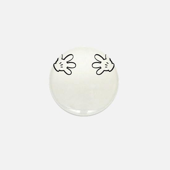 Mickey hands Mini Button