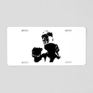 athlete boxing Aluminum License Plate