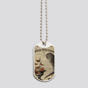 Modern Vintage Halloween Owl Dog Tags