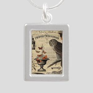 Modern Vintage Halloween Owl Necklaces