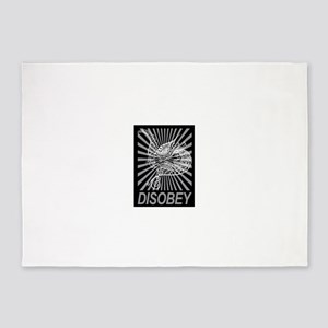 Disobey 5'x7'Area Rug