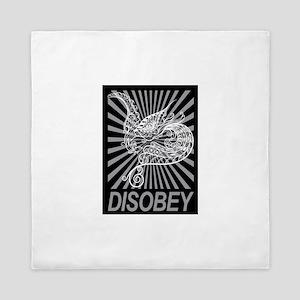 Disobey Queen Duvet