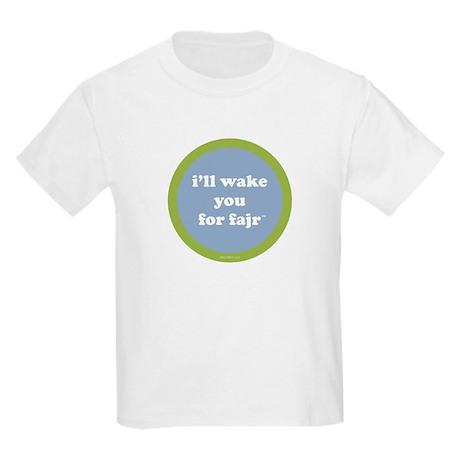 Fajr Kids T-Shirt (light blue + green)