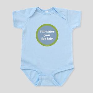 Fajr Infant Creeper (light blue + green)