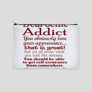 Selfie Addict humor Makeup Bag