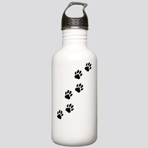 Cartoon Dog Paw Track Stainless Water Bottle 1.0L