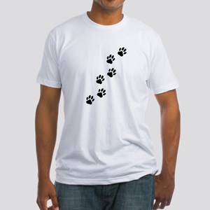 Cartoon Dog Paw Track T-Shirt