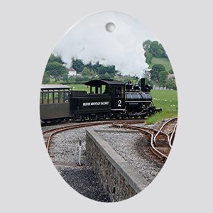Brecon Mountain Railway, Wales 2 Oval Ornament