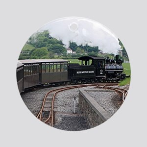 Brecon Mountain Railway, Wales 2 Round Ornament
