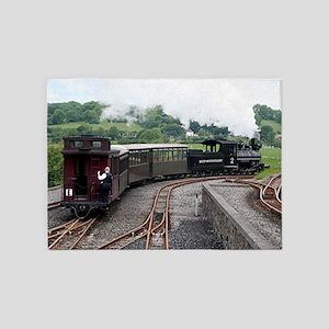 Brecon Mountain Railway, Wales 2 5'x7'Area Rug