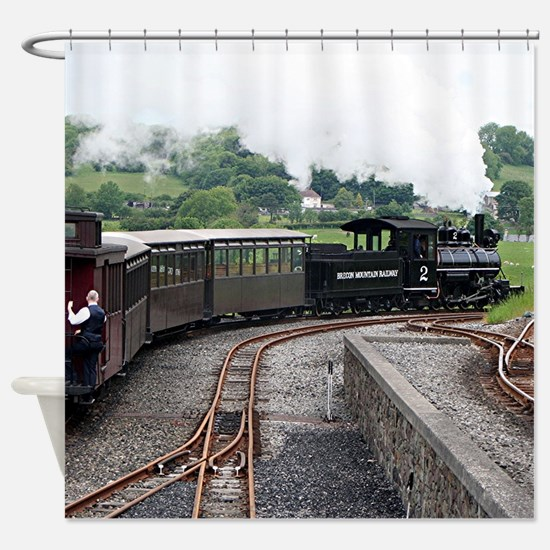 Brecon Mountain Railway, Wales 2 Shower Curtain