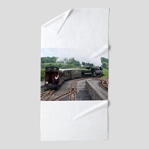 Brecon Mountain Railway, Wales 2 Beach Towel