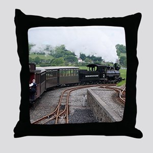 Brecon Mountain Railway, Wales 2 Throw Pillow