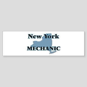 New York Mechanic Bumper Sticker