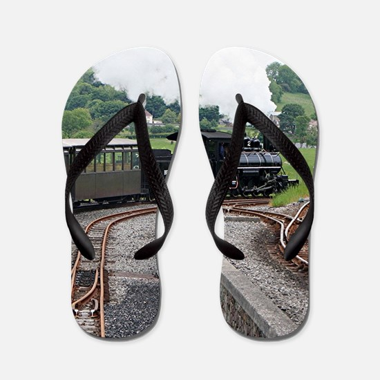 Brecon Mountain Railway, Wales 2 Flip Flops