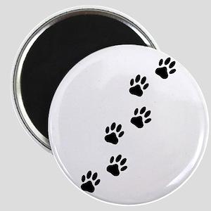 Cartoon Dog Paw Track Magnets