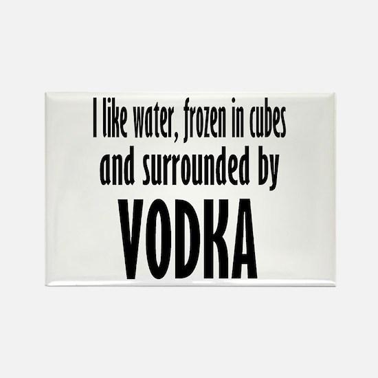 vodka humor Magnets