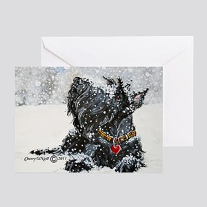 Scottish Terrier Christmas Greeting Cards