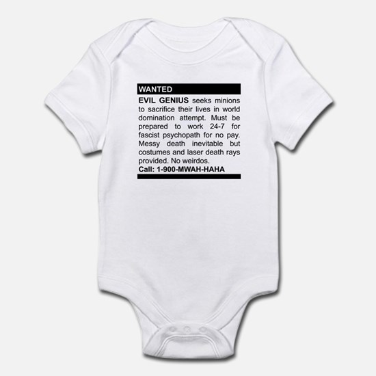 Evil Genius Personal Ad Infant Bodysuit