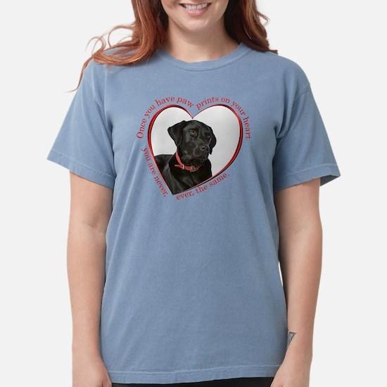 Lab Paw Prints T-Shirt