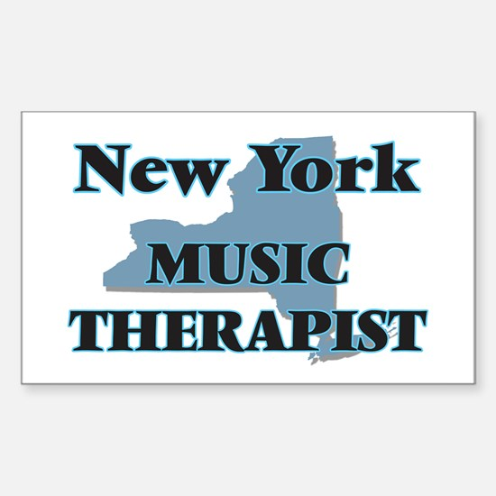 New York Music Therapist Decal