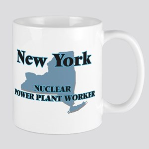 New York Nuclear Power Plant Worker Mugs