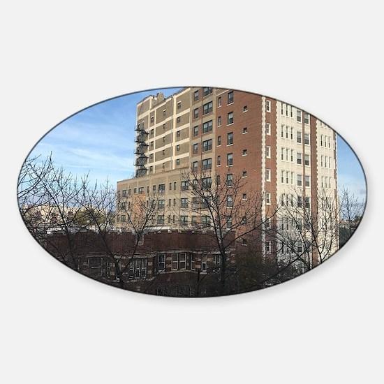 Unique North side Sticker (Oval)