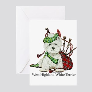 Highland Westie Greeting Cards