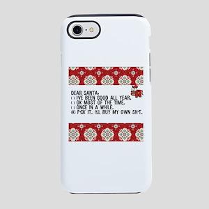 dear santaadult humor iphone 87 tough case