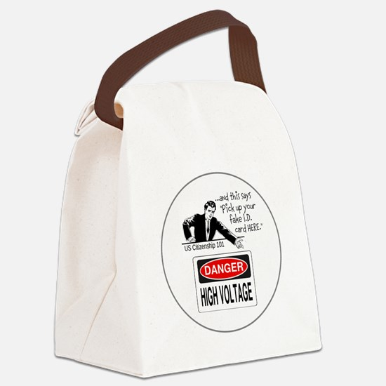 U.S. Citizenship 101 Canvas Lunch Bag