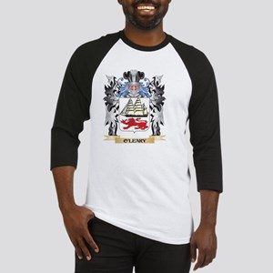 O'Leary Coat of Arms - Family Cres Baseball Jersey