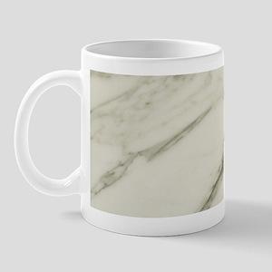 Carrara Marble Design Mug