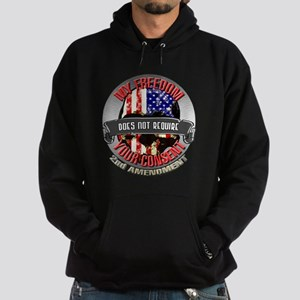 Freedom Requires No Consent Hoodie