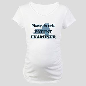 New York Patent Examiner Maternity T-Shirt