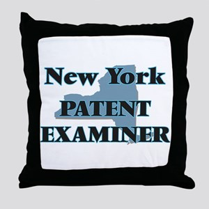 New York Patent Examiner Throw Pillow
