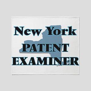 New York Patent Examiner Throw Blanket