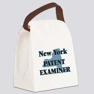 New York Patent Examiner Canvas Lunch Bag