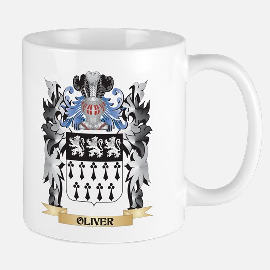 Oliver Coat of Arms - Family Crest Mugs