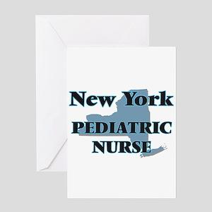 New York Pediatric Nurse Greeting Cards