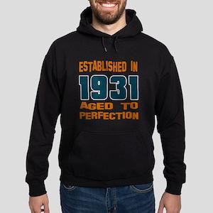 Established In 1931 Hoodie (dark)