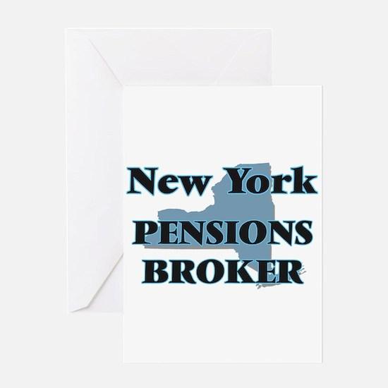 New York Pensions Broker Greeting Cards