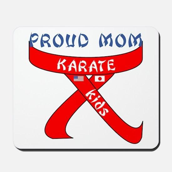 Proud Mom Karate Kids Mousepad
