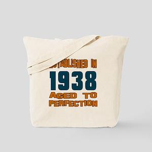 Established In 1938 Tote Bag