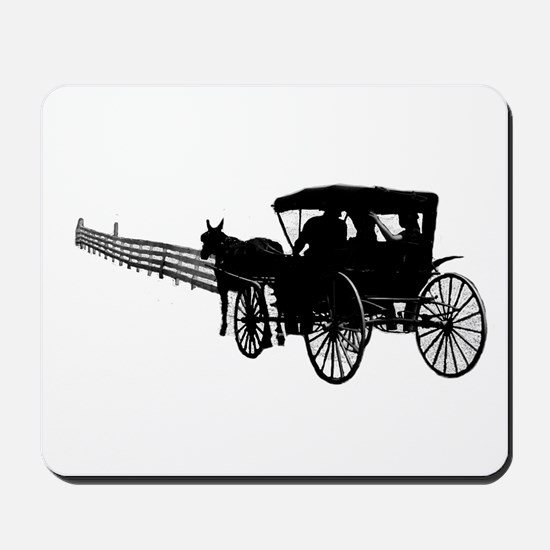 Horse and Buggy Mousepad