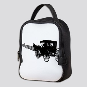 Horse and Buggy Neoprene Lunch Bag