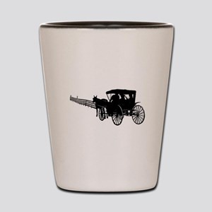 Horse and Buggy Shot Glass
